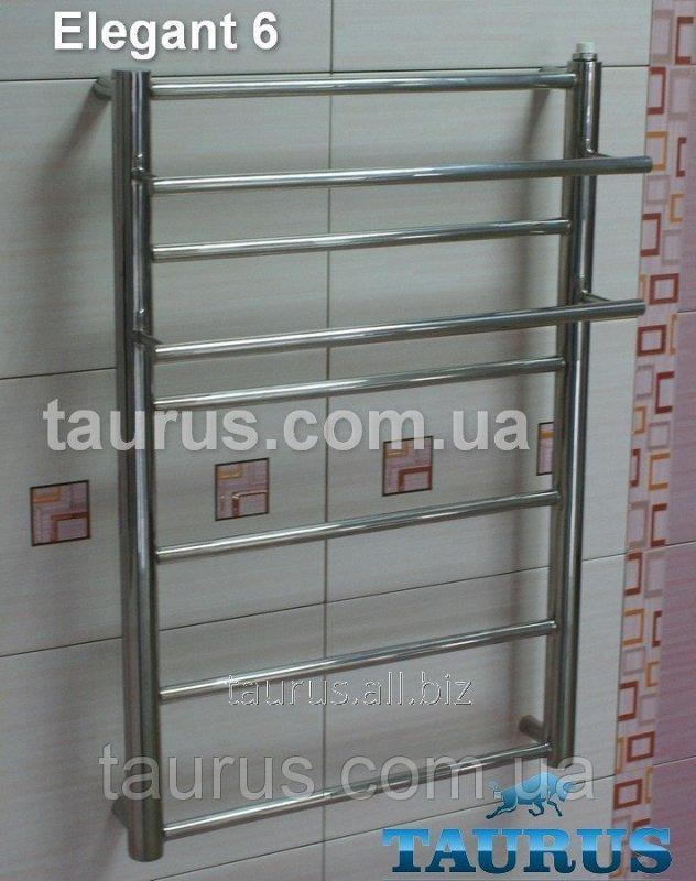 Buy The heated towel rail with the shelf of Elegant 6/450 of stainless steel