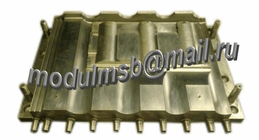 Купить Пресс-форма для изготовления полимерпесчаной черепицы с солнечными элементами