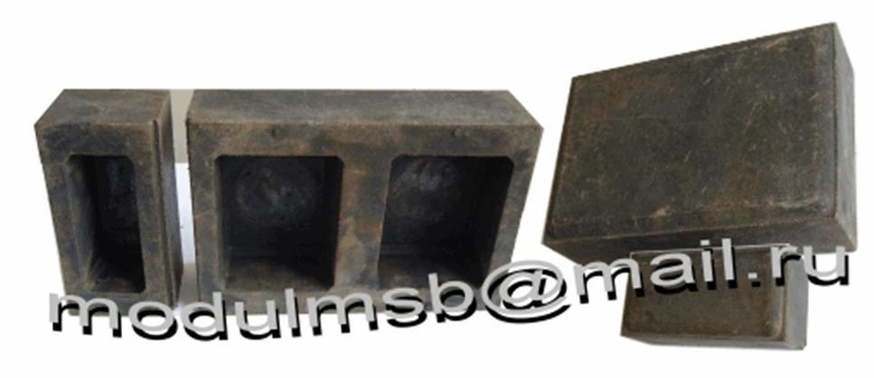 Купить Пресс-формы для производства полимерпесчаного кирпича Старый город (180 х 120 х 55 и 60 х 120 х 55)