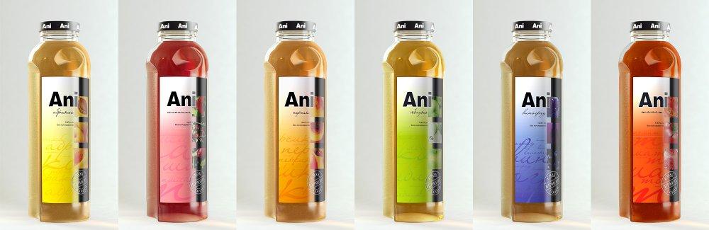 Сок Ani персиковый 0 5 л стеклянная бутылка ЭКСПОРТ