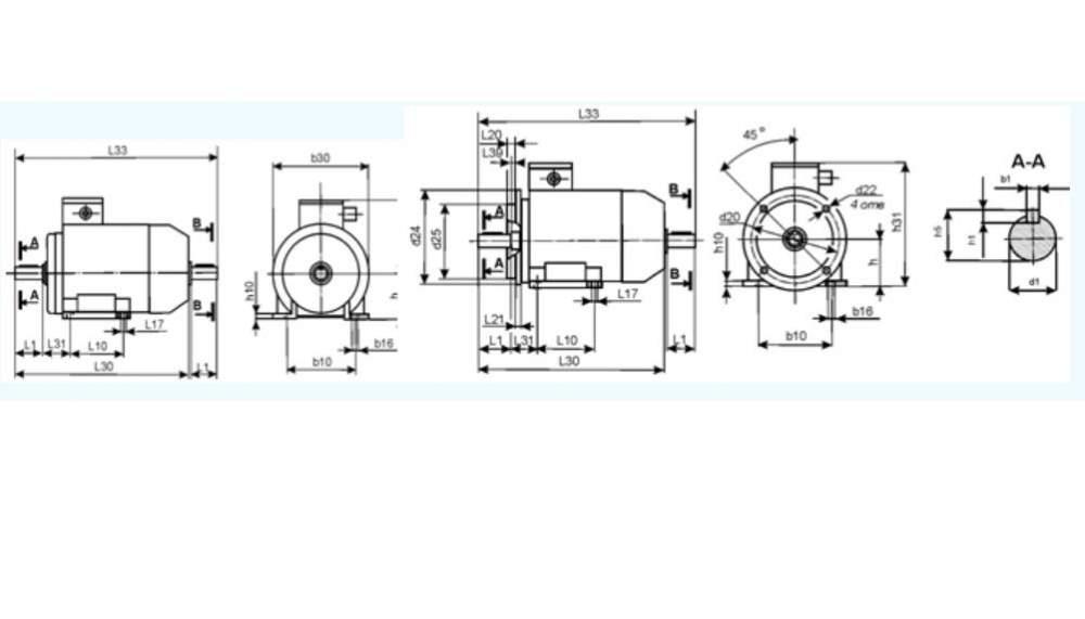 Электродвигатели трехфазные асинхронные серии АИС
