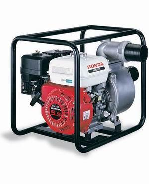 Мотопомпа для воды средней загрязненности HONDA WB 30 XT DRX официальный дилер HONDA.