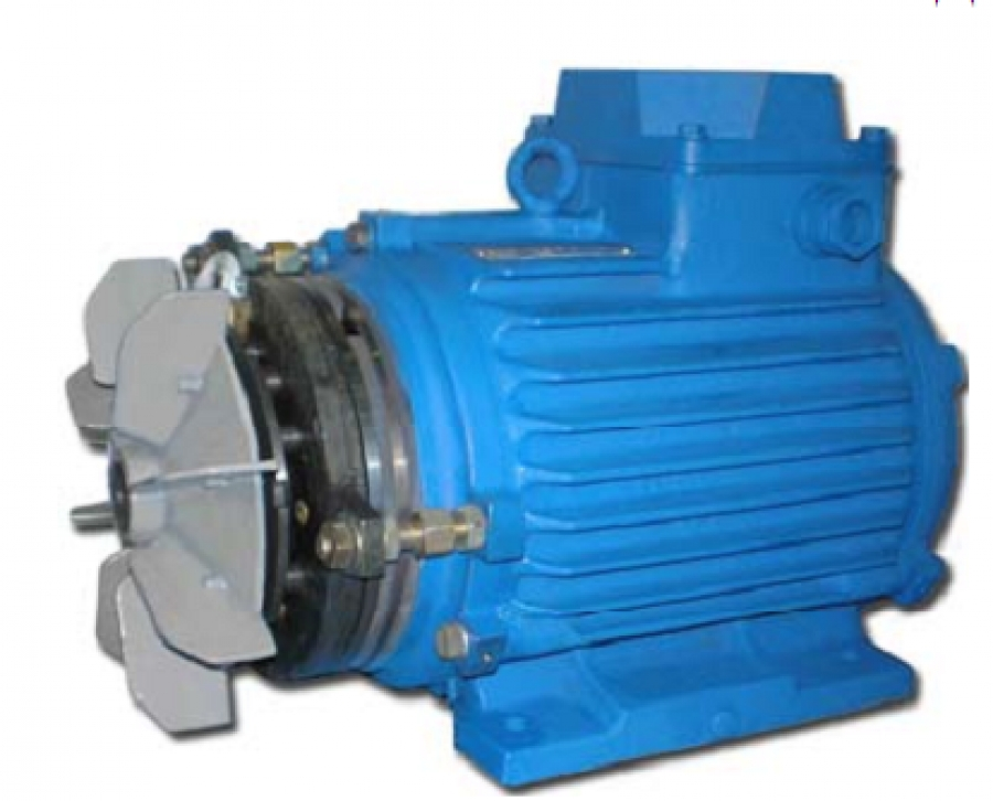 Электродвигатели с пристроенным тормозом