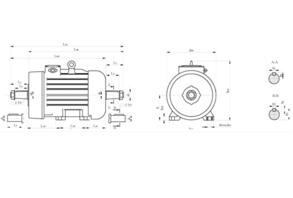 Электродвигатели крановые трехфазные асинхронные серий МТН, 4МТ, 4МТМ, МТКН, 4МТК, 4МТКМ