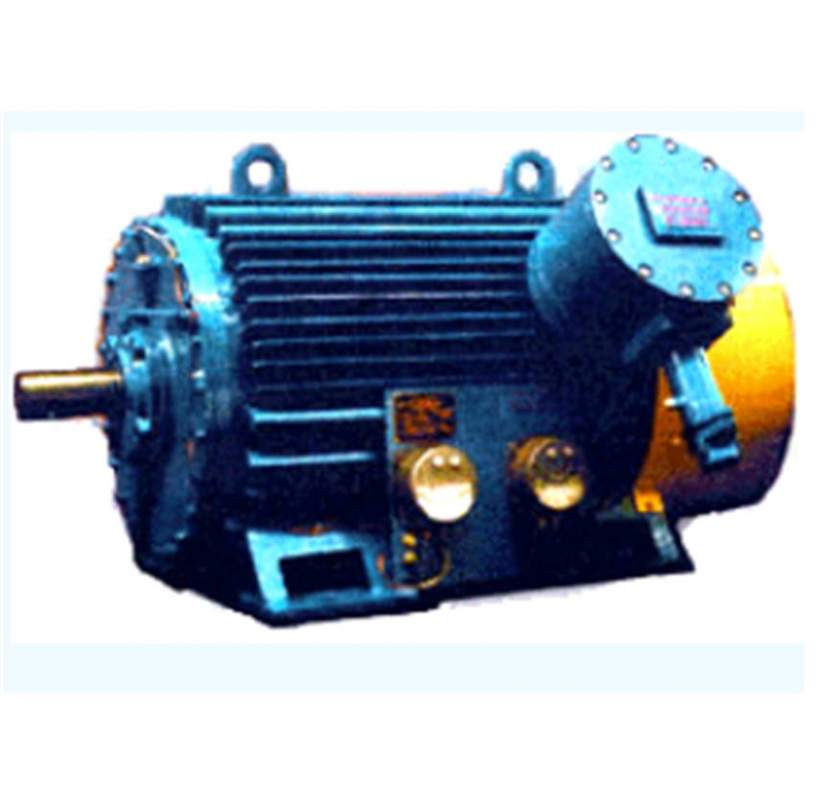 Buy Electric motors asynchronous with the squirrel cage rotor explosion-proof BAO4