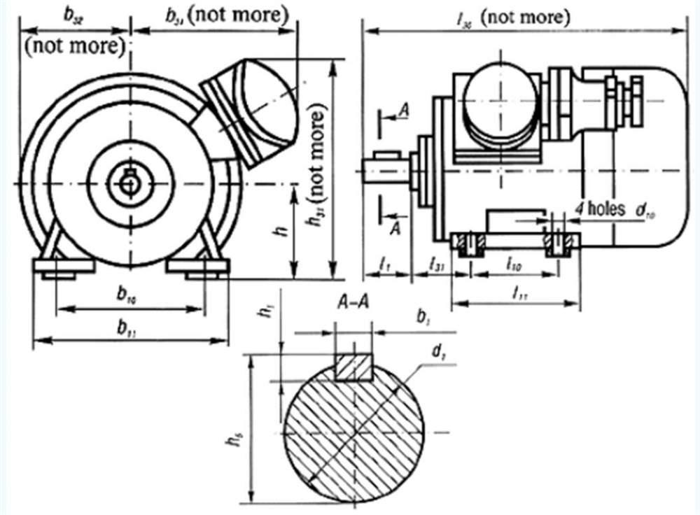 Электродвигатели трехфазные асинхронные взрывозащищенные типов ВАО2 280 - 355