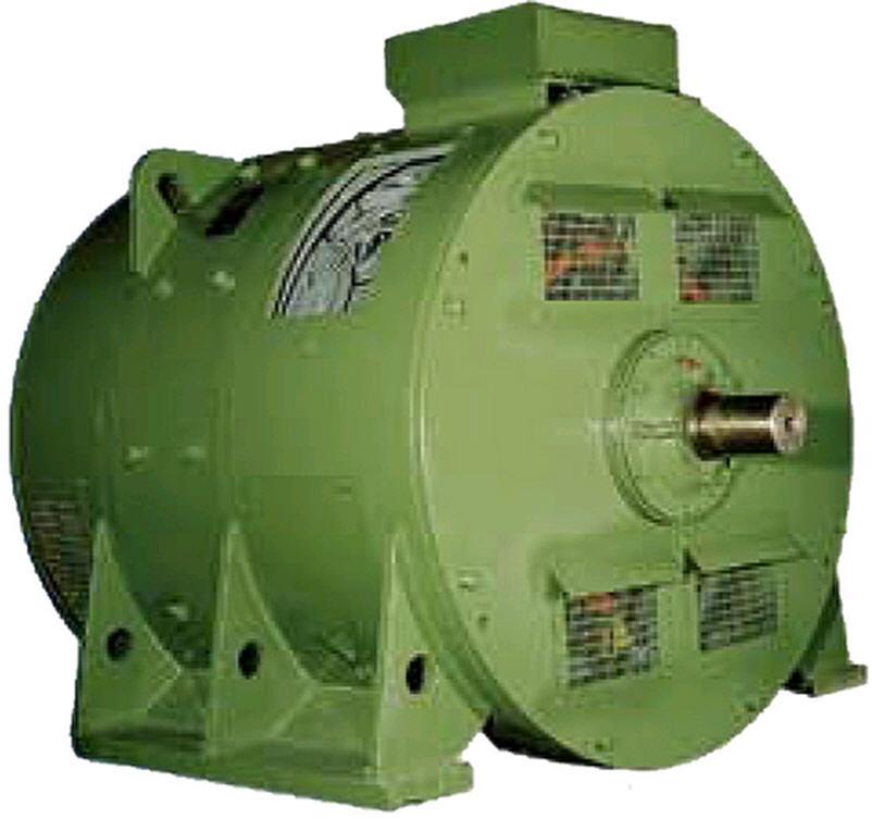 Машины электрические постоянного тока серии 4П габаритов 200-280 (модификация)