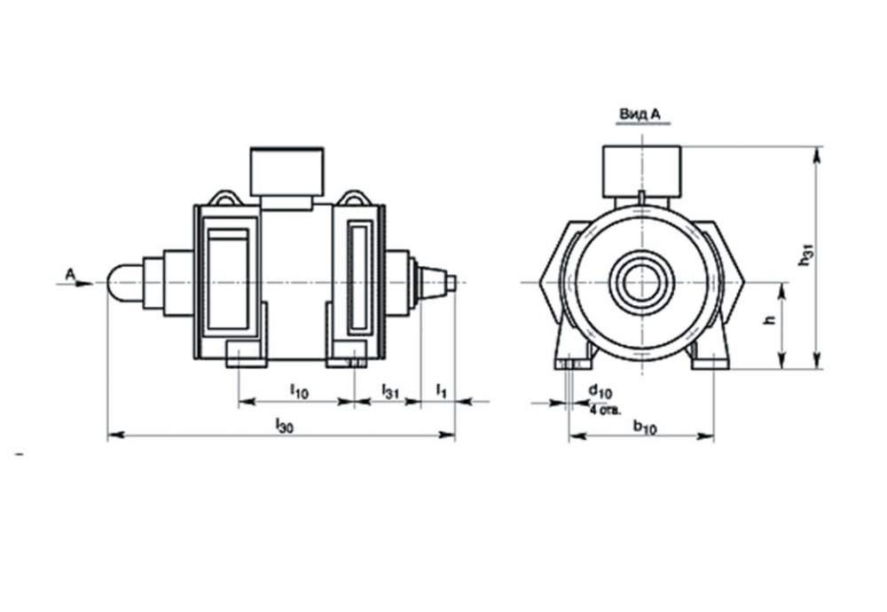 Электродвигатели постоянного тока типа П280МП2Г, П355SП2Г, П400SП2Г, П400МП2Г