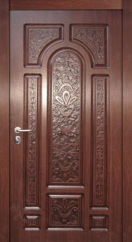 двери стальные с резьбой
