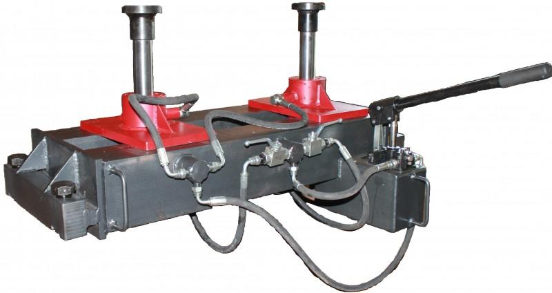 Траверса для грузовых автомобилей (ручной гидравлический ямный подъёмник