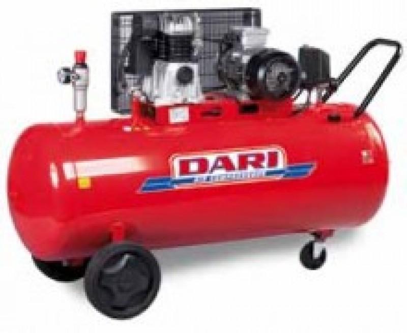 Компрессор Dari Dec 200/490-3M поршневой одноступенчатый с ременной передачей
