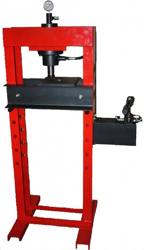 Пресс монтажно-запрессовочный ручной гидравлический двухстоечный