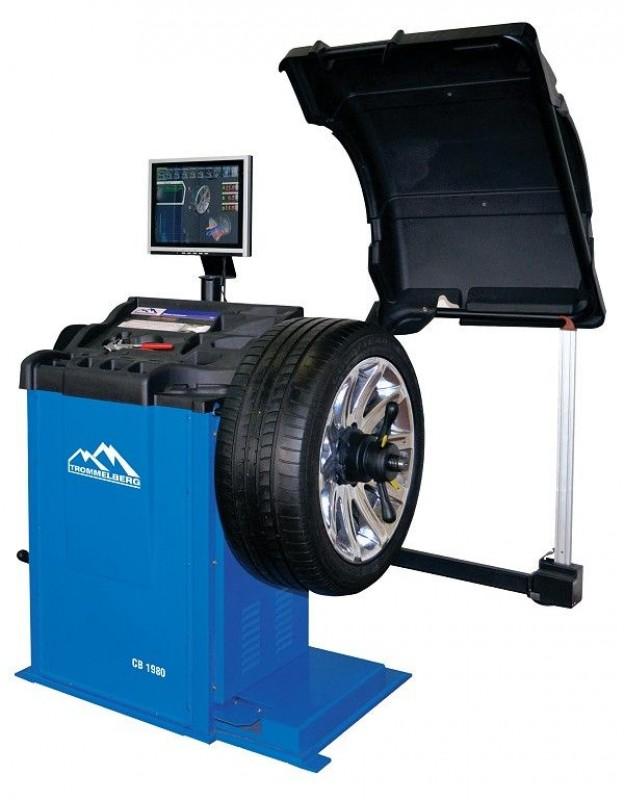 Станок балансировочный CB1980 для колес до 75 кг