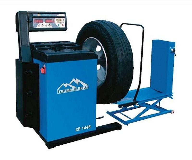 Станок балансировочный CB1448 для колес до 130 кг