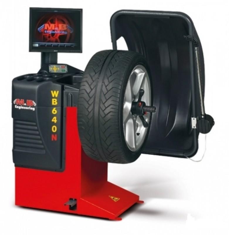 Станок балансировочный автоматический M&B Engineering WB640