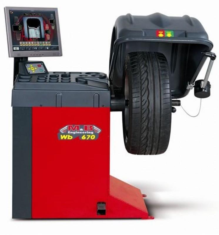 Станок балансировочный автоматический M&B Engineering WB670