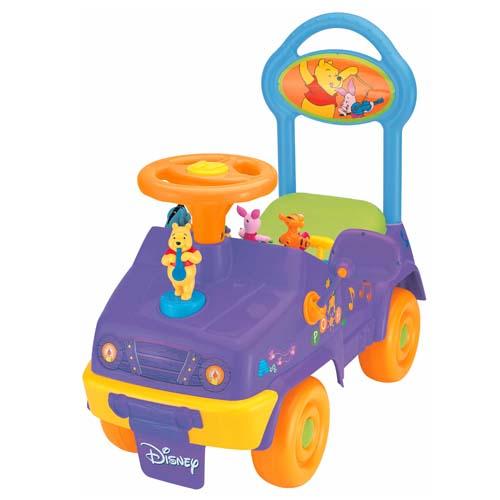 Купить Детский автомобиль-каталка. Чудомобиль - ВИННИ-ПУХ С ОРКЕСТРОМ. Опт
