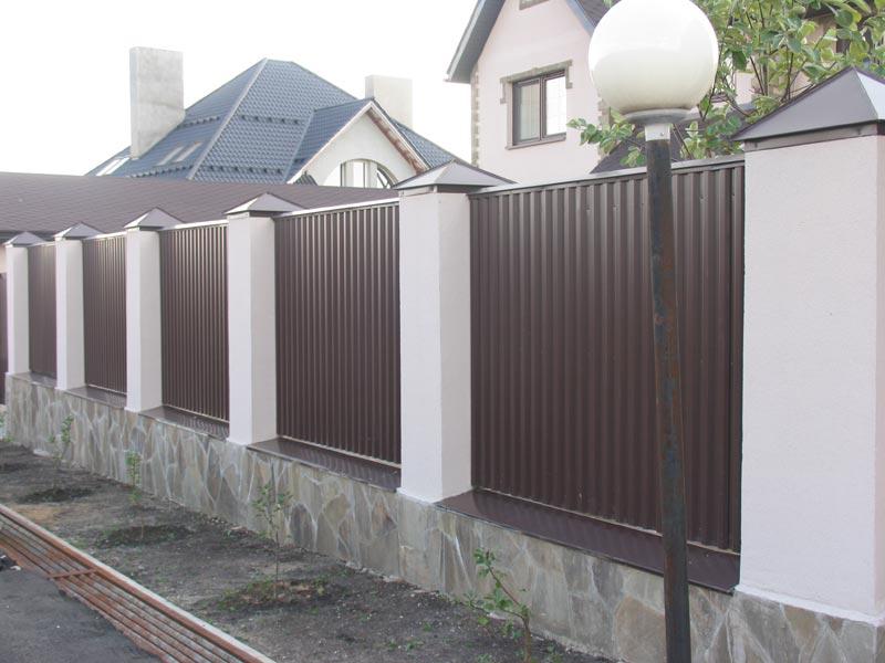 Забор дизайн