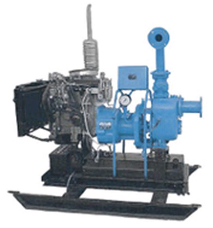 Передвижные дизель-насосные установки 1ДНУ 100/50 для фекальных и сточных вод