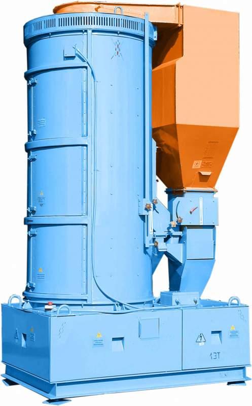 Сепараторы зерноочистительные Р8-БЦСМ-25  виброцентробежные