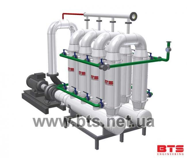 ультрафитрационная установка BTS 250м2