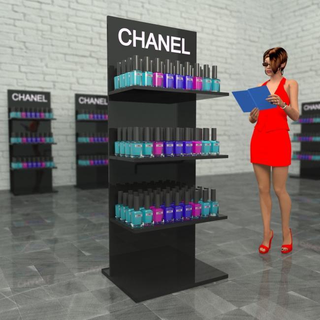 Стенд рекламный CHANEL в магазин