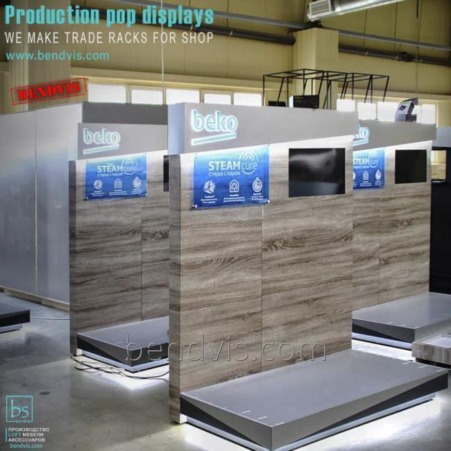 Торговельне обладнання для магазину електротоварів