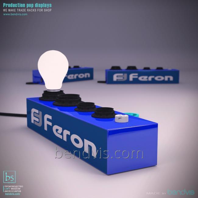 Тестер Ферон для проверки лампочек
