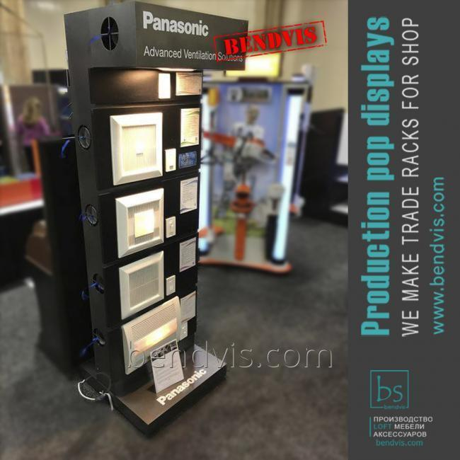 Торговые стойки Panasonic
