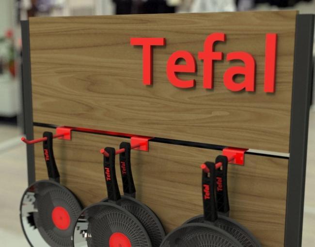 Мобильный стенд Tefal