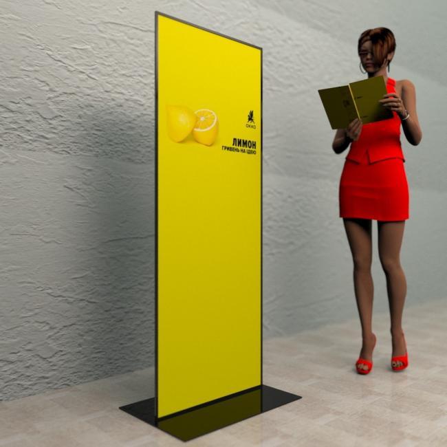 стенд рекламный для информации 2