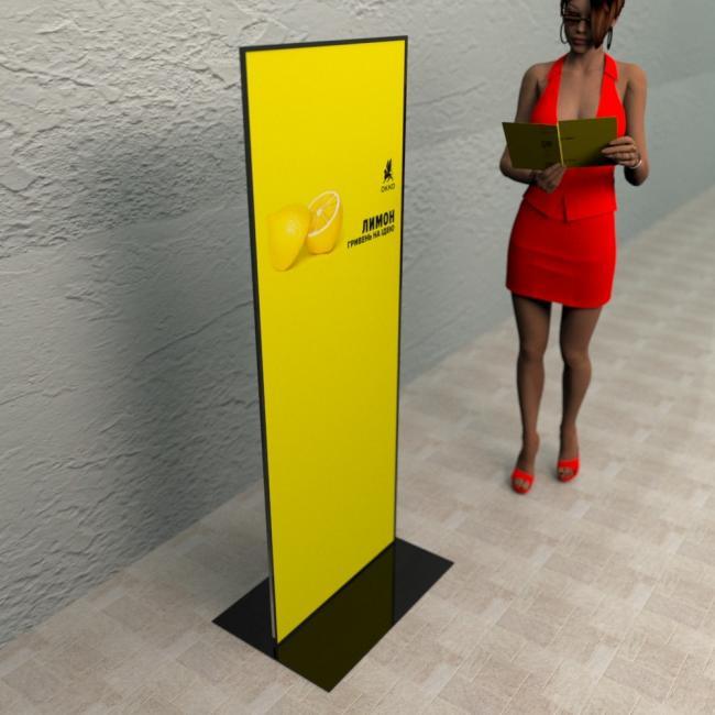 стенд рекламный для информации