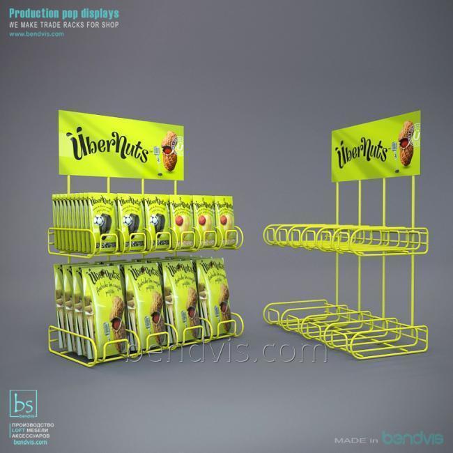 Подвесные полки и рекламные подставки от Бендвис