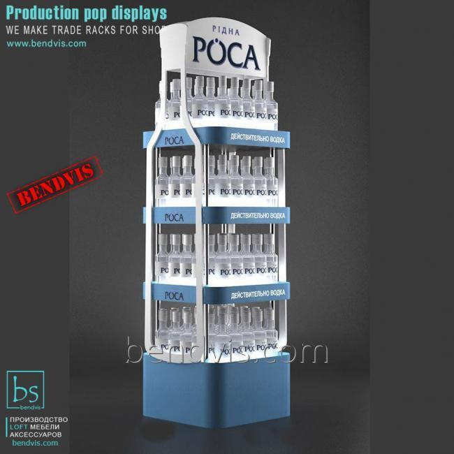 Торговый стенд для алкоголя Роса от Bendvis