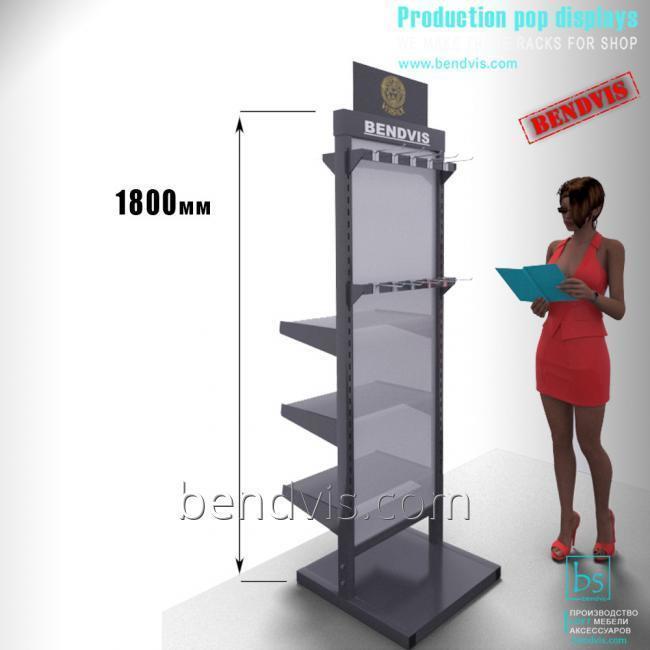 Торговое оборудование для магазина стеллажи