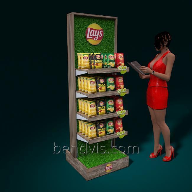 стенд для чипсов