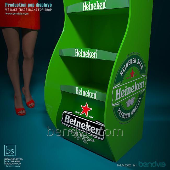 Для алкоголя торговый стенд