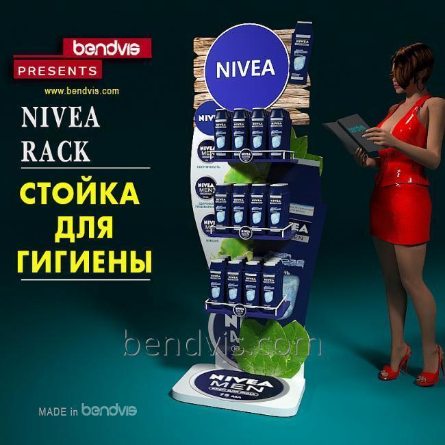рекламные стойки для гигиены