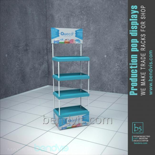 Торговое оборудование стойка для товара