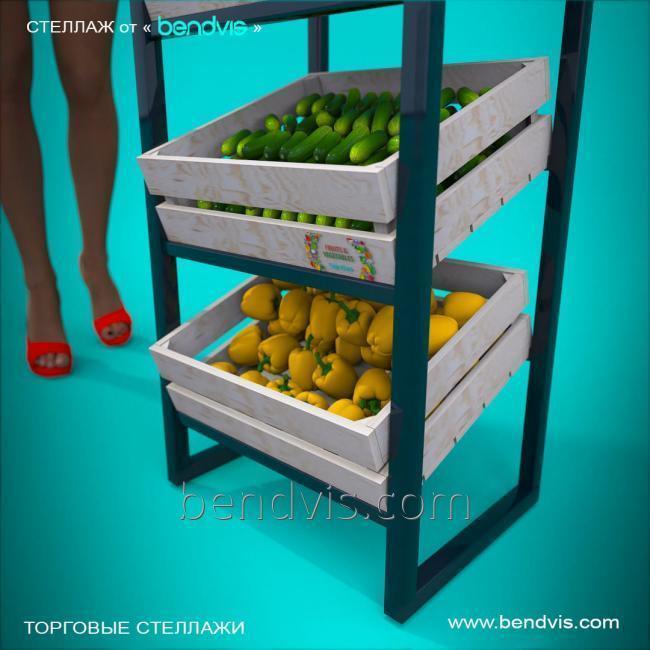 Стеллажи под овощи