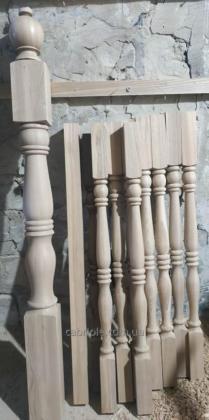 столбы и балясины для лестницы