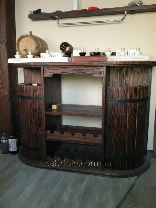 барный стол под старину