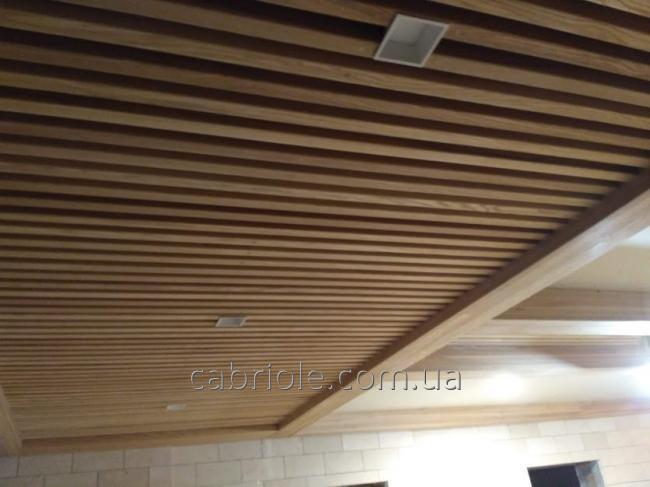 деревянные рейки для декора