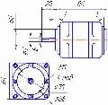 Электродвигатель переменного тока КД 60-2/45.