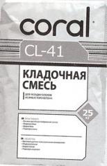 Glue for CORAL gas concrete