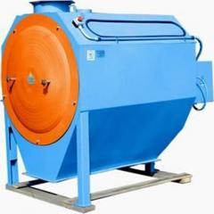 Skalperator drum for purification of grain