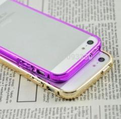 Блестящий бампер для Iphone 5, 5S