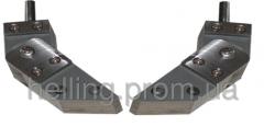 Two-unit adjustable poles 45 °