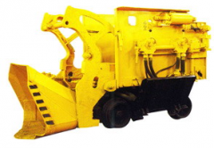 The mining equipment, the drilling tool from the