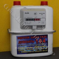 Лічильник газу GALLUS (ITRON) G-4